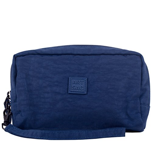 Monederos Small Top Sectioned Azul pouch Zip Wristlet Artsac navy Mujer ngYPxwqP6v