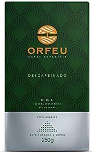 Café Moído Descafeinado Orfeu 250g