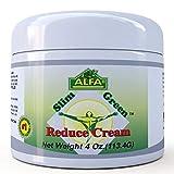 Premium Slim Green Reduce Cream By Alfa Vitamins - Weight Loss Fat Burning