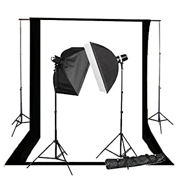 CowboyStudio 220 Watt Photography Studio Monolight Flash Lighting Kit - 2 Studio Flash/Strobe  sc 1 st  Amazon.com & Amazon.com : CowboyStudio 220 Watt Photography Studio Monolight ... azcodes.com