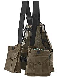 Waxed Cotton Strap Vest/Waxed-Cotton Strap Vest