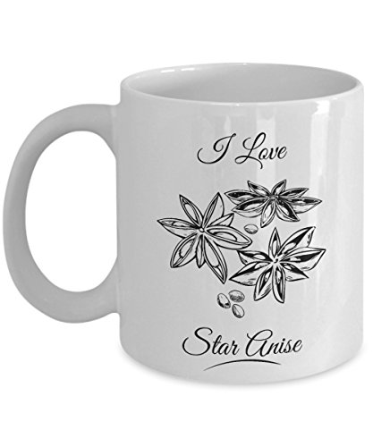 Anise Candy Recipe - I Love Star Anise Herb Spice Home Cooking Essentials Coffee & Tea Gift Mug Stuff For A Cook & Women Cooks