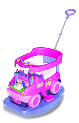 Kiddieland 4-in-1 Rock n Activity Ride on (Baby Princess) n, - Ride Disney Princess