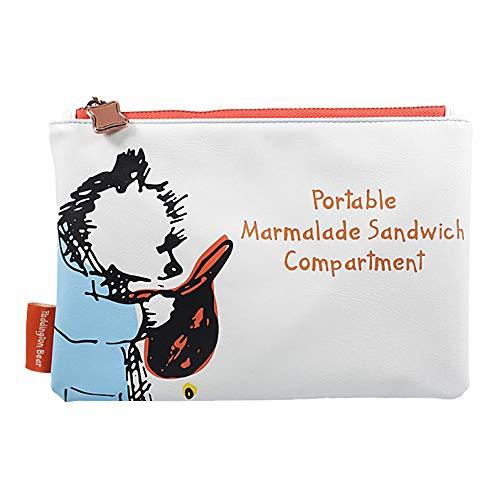 Genuine Paddington Bear Marmalade Sandwich Travel Pouch Toiletry Bag Pen Case Purse