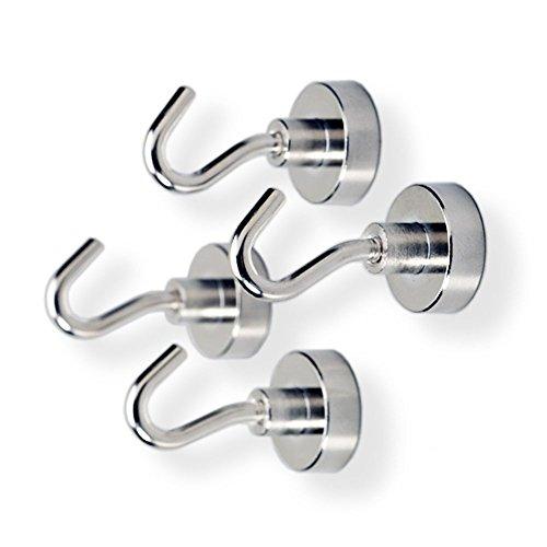 Tozz Pro Magnet Hooks - Magnet Hooks (4-pack) (10 Pound) by Tozz Pro