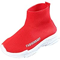 Dainzuy Toddler Baby Boys Girls Mesh Boots Sport Sneakers Socks Shoes