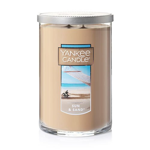 Tumbler Wax Candle (Yankee Candle Large 2-Wick Tumbler Candle, Sun & Sand)