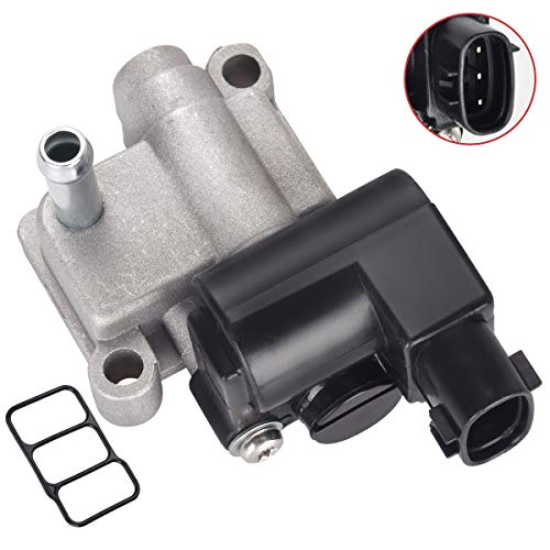Idle Air Control Valve IACV IAC 16022P8AA03 for Honda Accord Odyssey Pilot CR-V Acura CL TL MDX V6 3.0L 3.2L 3.5L With Gasket