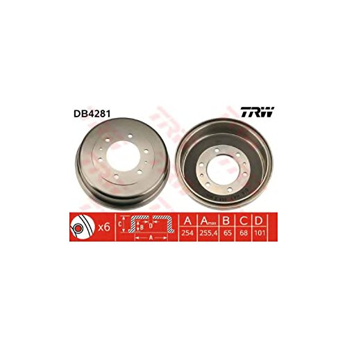 TRW DB4281 Brake Drums: