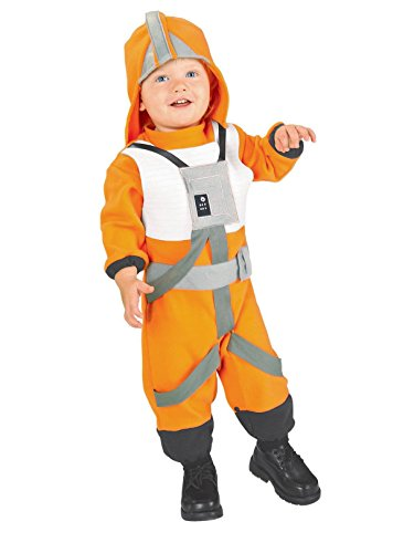 Star Wars Romper And Headpiece X-Wing Fighter Pilot, Pilot Print, 1-2 Years]()