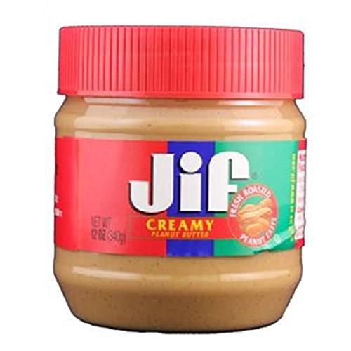 Jif Creamy Peanut Butter, 12 oz