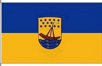 Flagge und Fahne K/önigsbanner Autoflagge Rheinsberg 30 x 45cm