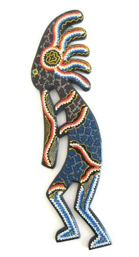Kokopelli Statue Wall Hanging Southwest Decor Native Amer...