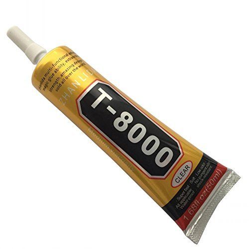 50ml Rhinestone Glue T-7000 Multi-purpose Adhesive Jewelry Nails Glass Phone DIY (T-8000)