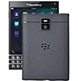 Hello Zone Exclusive Dotted Design Soft Back Case Cover For Blackberry Passport - Black