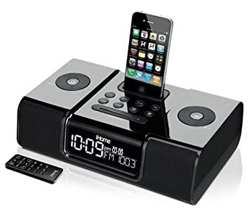 amazon com ihome ip9 speaker dock with clock radio for ipod and rh amazon com ihome ip92 ihome ip9 manual