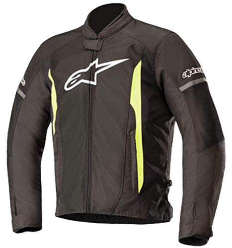 T-Faster Air Textile Street Motorcycle Jacket (XL, Black ()