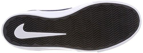 Nike SB Portmore II Solar, Scarpe da Skateboard Uomo Blu (Midnight Navy / White / Black 410)