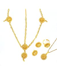 Amazoncom BR Gold Jewelry Clothing Shoes Jewelry