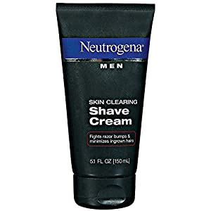 Neutrogena Men Skin Clearing Shave Cream - 5.1 oz