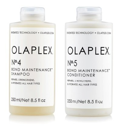 Olaplex No 4 Bond Maintenance Shampoo 250ml/8.5 oz No 5 Bond Maintenance Conditioner 250ml/8.5 oz Free No.3 Sample .5 oz/