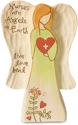 Pavilion Gift Company 78011 Nurse Angel Figurine, (Collectible Nurse Angel Figurine)