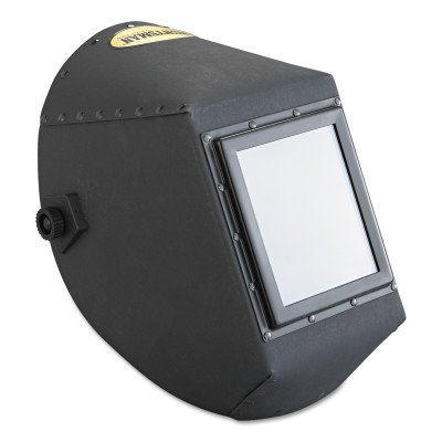 Jackson Safety 14529 W20 451P Black Fiber Shell Welding Helmet, 5-1/4
