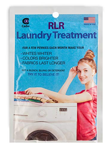 RLR Natural Powder Laundry Detergent - Whitens, Brightens, Refreshes Baby Cloth Diapers, Musty Towels, Workout Clothes - Non-Toxic, Fragrance-Free for Sensitive Skin (1 - Pack)