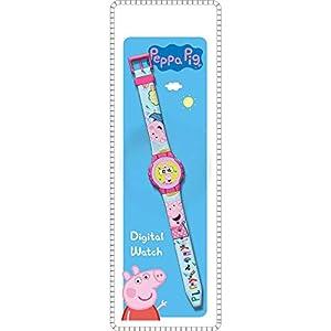 Peppa Pig Reloj de Pulsera Digital ke02 (PP17006), Multicolor (Kids Licensing 1) 41OSeMChRmL