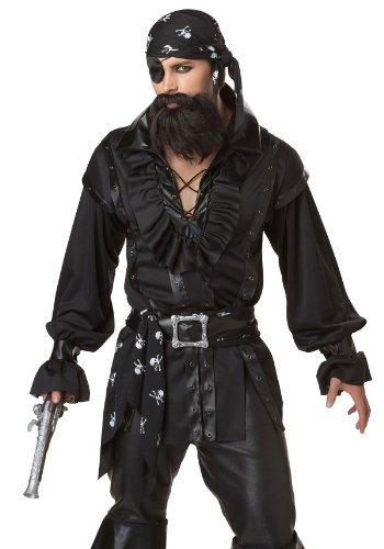 California Costumes Mens Plundering Pirate Costume Black (Plundering Pirate Costumes)