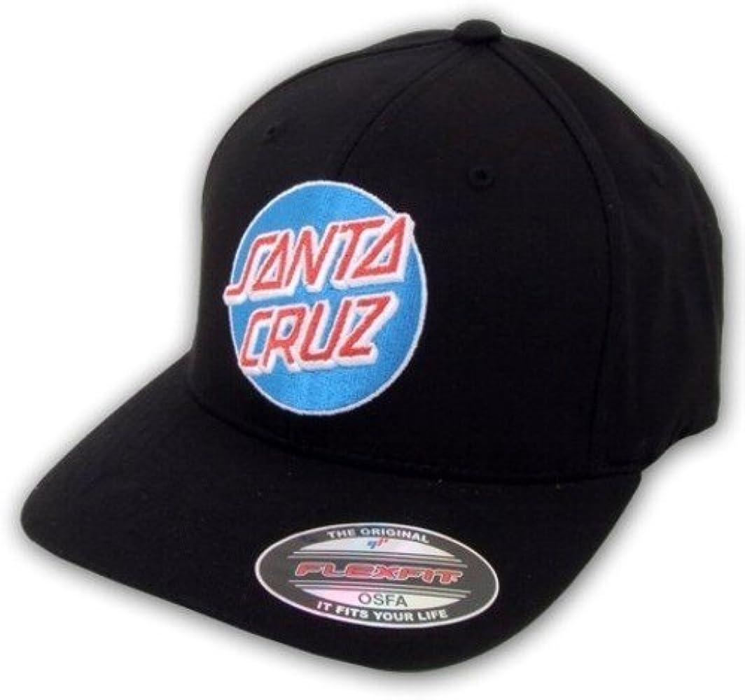 Santa Cruz - Gorra de béisbol - para hombre Negro negro talla ...