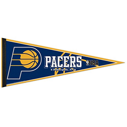 NBA Indiana Pacers WCR63837412 Carded Classic Pennant, 12'' x 30'' by WinCraft