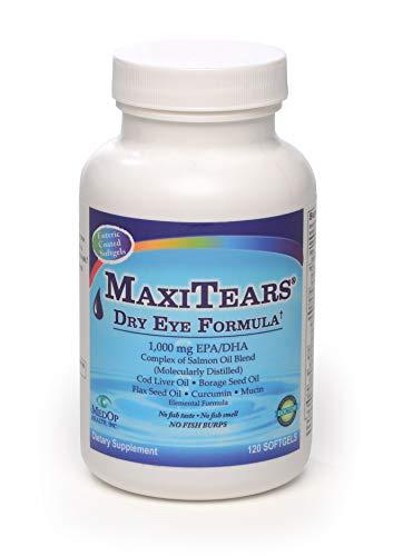 - MedOp MaxiTears® Dry Eye Formula 120 softgels