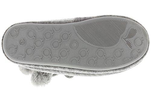 MIK Funshopping - Botas plisadas Mujer gris