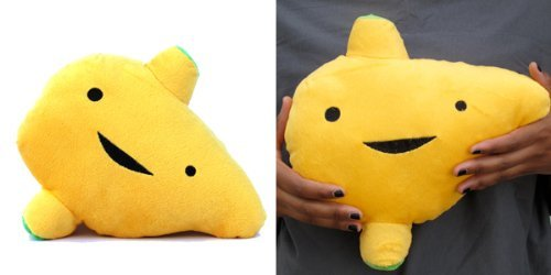 LARGE LIVER Designer Plush Figure - I'm A Liver Not A Fighter from the I Heart Guts Series ()