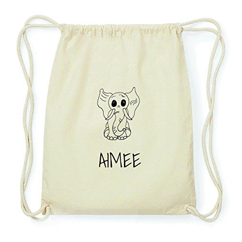 JOllipets AIMEE Hipster Turnbeutel Tasche Rucksack aus Baumwolle Design: Elefant MWHBO