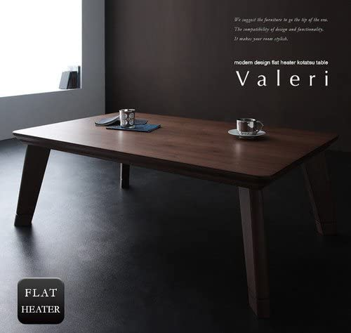 ナチュラルアッシュ こたつ テーブル Valeri ヴァレーリ モダンデザイン フラットヒーター 正方形(80×80)【ノーブランド品】
