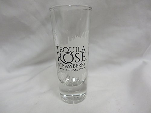 (Tequila Rose Strawberry Cream Shot Glass)