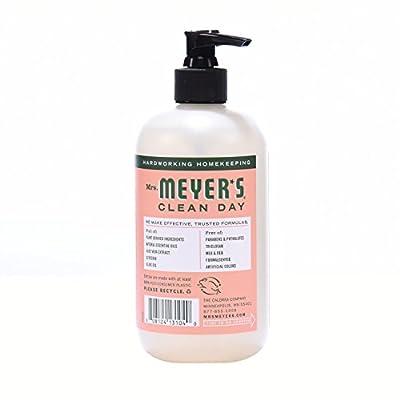 Mrs. Meyer's Clean Day Liquid Hand Soap, Geranium Scent, 12.5 ounce bottle