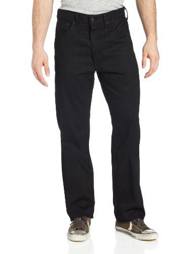 Levi's Men's 501 Shrink To Fit Jean, Black, 38x36