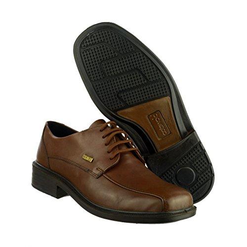 Stonehouse Bas Cotswold Imperméables En Cuir Chaussures Talon À Lacets Hommes Hzx6qxw5