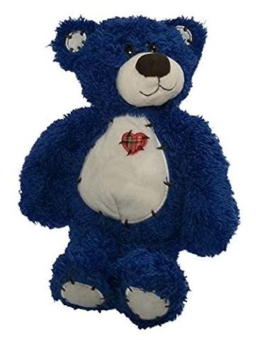 Blue Tender Teddy Stuffed Teddy Bear 12