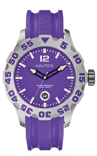 Nautica A14606G - Reloj analógico de caballero de cuarzo