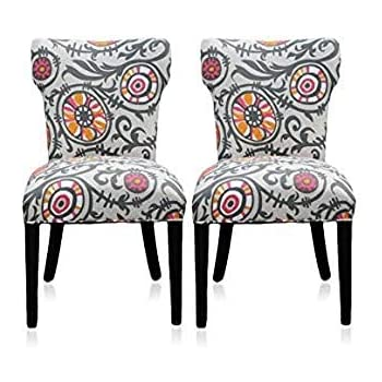 Amazon Com Sole Designs Julia Collection Dining Chairs