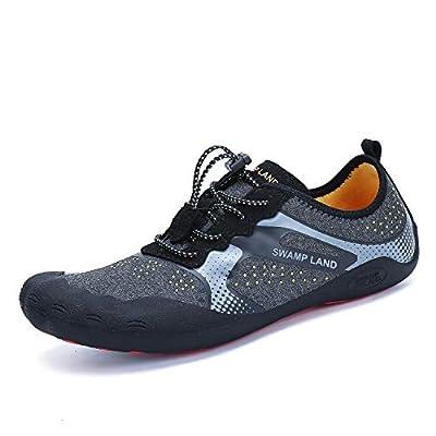 katliu Water Shoes for Men Hiking Barefoot Wide Quick Dry Womens Outdoor Non Slip Walking Shoe