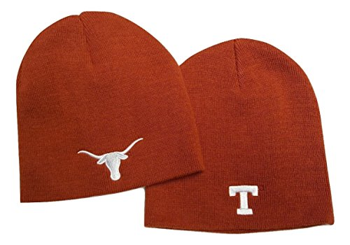 Texas Longhorns Beanie - NCAA Texas Longhorns Cuffless Knit Beanie Cap