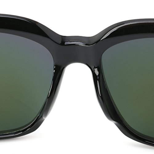 Calavera Gafas cuadradas Kimruida 4 de diseño Sol 4 de UV400 TxqIq50