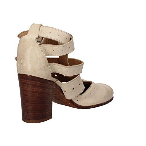 MOMA Zapatos De Tacón Mujer 37 EU Blanco Cuero