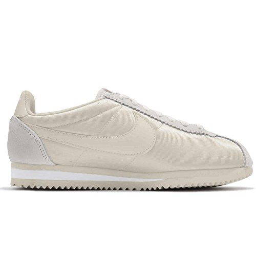 White fossil Femme fossil Nike Beige Black Classic Nylon Baskets Cortez 1xWaS8q