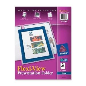 AVE47846 - Avery Flexi-View Two-Pocket Polypropylene - Flexi Folders Pocket View 2